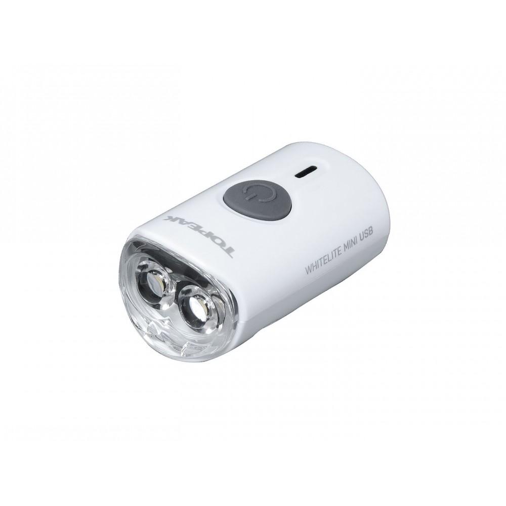Topeak koplamp WhiteLite Mini USB kopen bij Banierhuis, de grootste Fietsenwinkel in Utrecht.